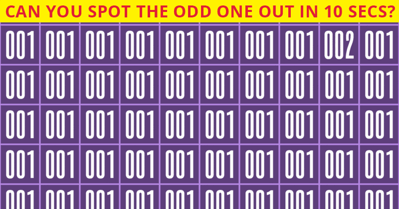 Only 5 Out Of 100 People Will Graduate From This Tricky Odd One Out Quiz!