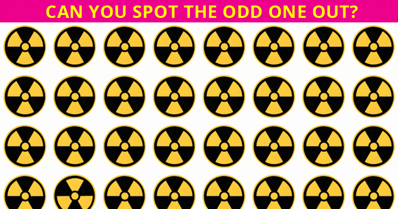 Only 4% Of People Can Beat This Odd Ones Out Test. Are You Up To The Challenge?