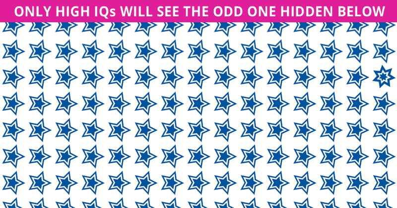 Almost No One Can Achieve 100% In This Difficult Odd One Out Test. How About You?