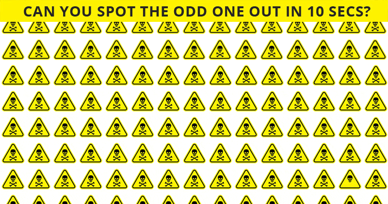 Only People With A Seriously High IQ Will Be Able To Ace This Odd One Out Visual Challenge! Can You?