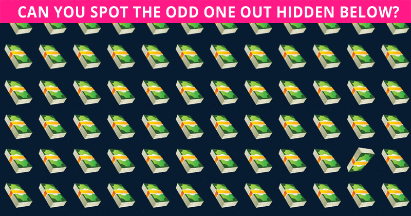 Almost No One Can Beat This Odd Ones Out Test. Are You Up To The Task?