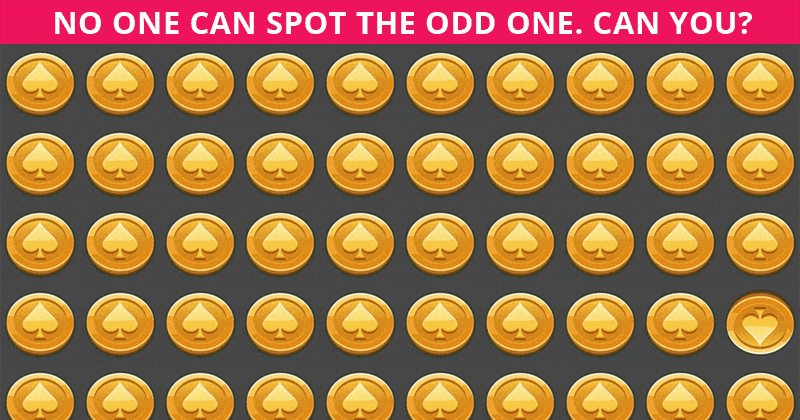 If You Can Pass This Difficult Odd Ones Out Visual Puzzle In 60 Seconds You're Seriously Amazing Vision!