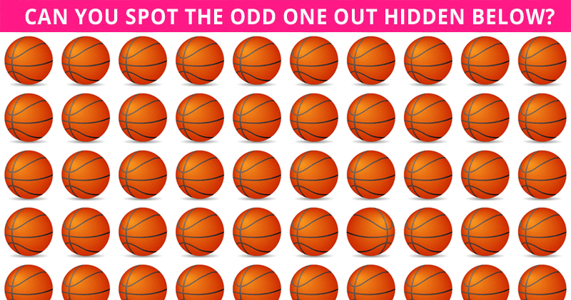 Only 1 In 30 Sharp-Eyed People Can Ace This Tough Odd One Out Test. How About You?