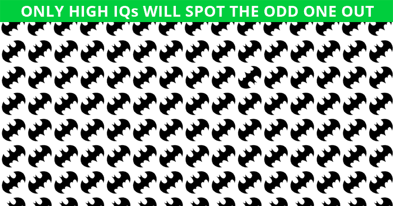Challenge Time: No One Can Solve This One. Can You Spot The Odd One Out In Less Than 10 Seconds?