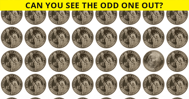 Only 4% Of People Can Ace This Odd Ones Out Visual Test. Are You Up To The Challenge?