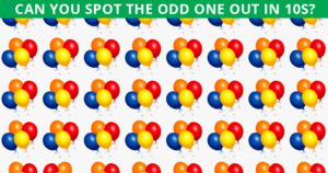 Beating This Difficult Odd One Out Quiz Is Impossible. Prove Us Wrong