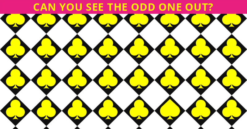 This Odd One Out Game Will Determine Your Visual Perception Talents In About One Minute