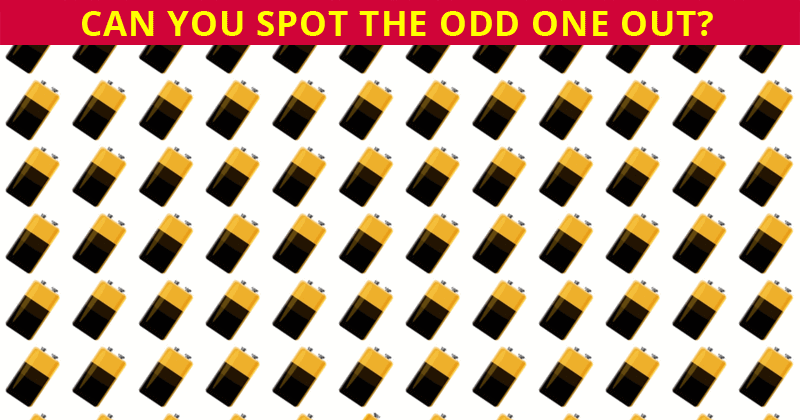This Odd Ones Out Visual Quiz Will Determine Your Visual Perception Talents In Less Than One Minute