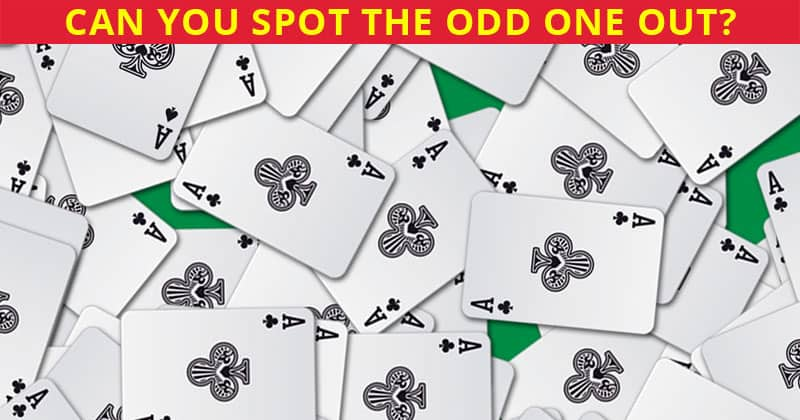 This Odd One Out Puzzle Will Determine Your Visual Perception Talents In 10 Seconds