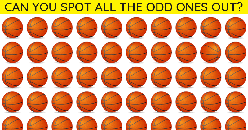 Only 1 In 30 Sharp-Eyed People Can Achieve 100% In This Challenging Odd One Out Visual Game. How About You?
