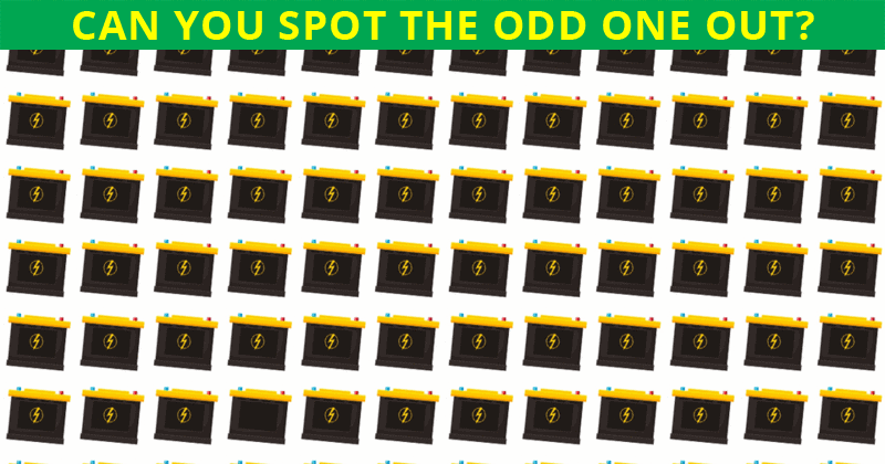 Literally Zero People Can Get 100% On This Odd Ones Out Visual Puzzle. Prove Us Wrong