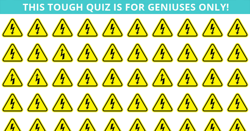 Nobody Can Solve This One. Can You Spot The Odd One Out On All Levels In Less Than 10 Seconds?