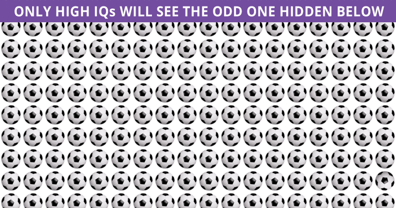 Only 1 In 30 Sharp-Eyed People Can Beat This Odd One Out Test. How About You?