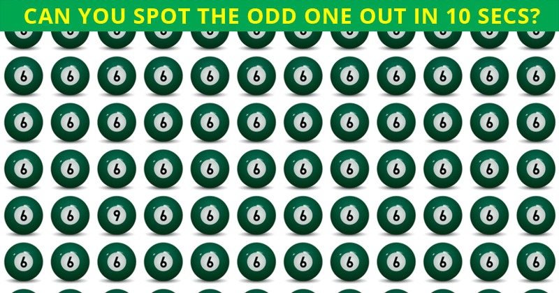 Only 1 In 50 People Can Beat This Odd One Out Visual Game. Are You Up To The Task?