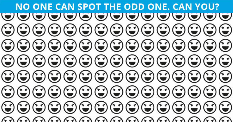 This Odd Ones Out Puzzle Will Determine Your Visual Perception Abilities!