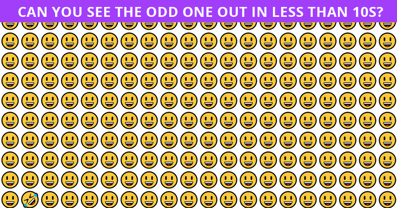 Beating This Difficult Odd One Out Visual Challenge Is Impossible. Prove Us Wrong
