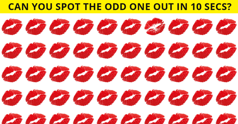 These Brilliantly Creative Odd Ones Out Visual Challenges Will Test Your Eyesight!