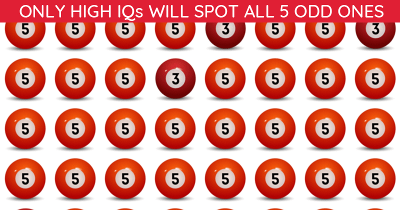 Only 10% Of People Can Ace This Tough Odd One Out Visual Challenge. How About You?