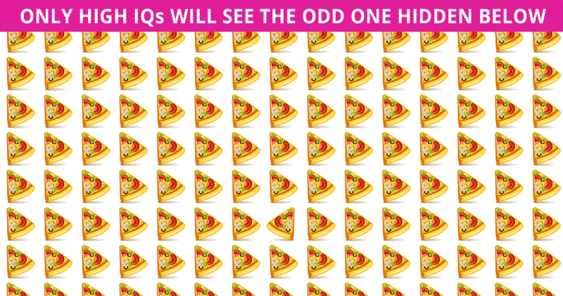 Only 5 Out Of 100 People Will Graduate From This Odd One Out Visual Puzzle!