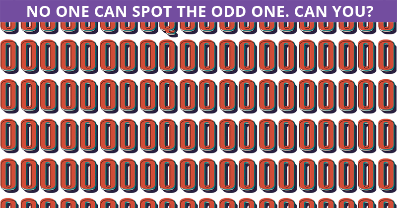 Are You Sharp Enough To Solve This Odd One Out Puzzle?