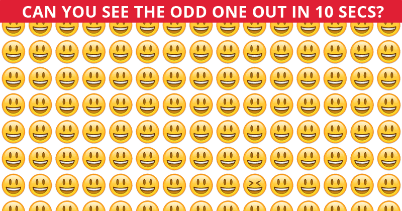 This Odd One Out Game Will Determine Your Visual Perception Abilities!