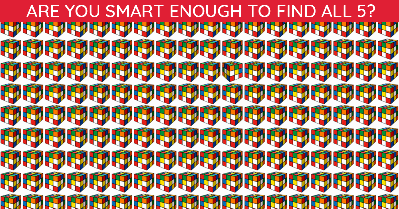 Only 1 In 25 People Can Beat This Challenging Multiple Odd Ones Out Visual Puzzle. How About You?