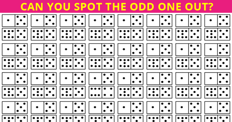Almost No One Can Achieve 100% In This Odd One Out Puzzle. Are You Up To The Task?