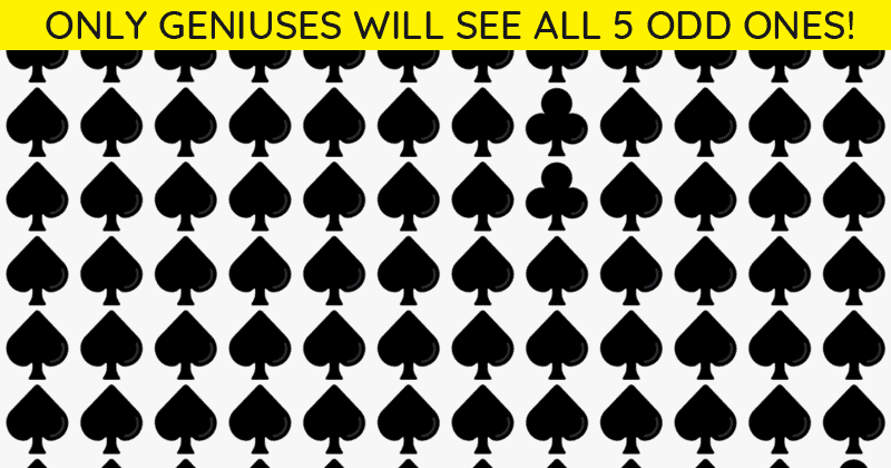 Only 1 In 40 People Can Achieve 100% In This Multiple Odd Ones Out Visual Puzzle. How About You?