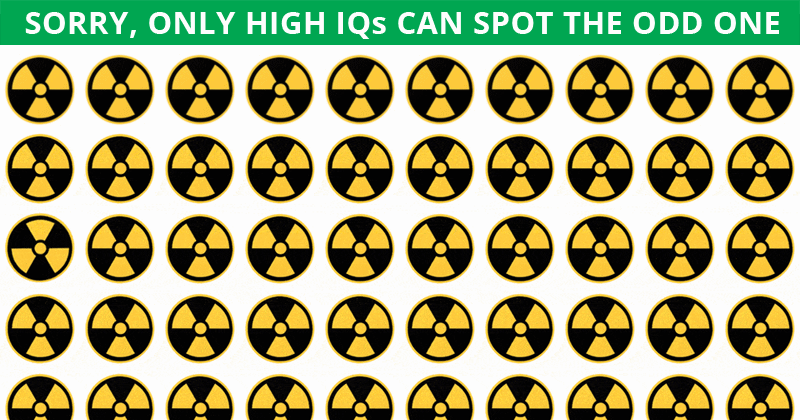 This Odd Ones Out Game Will Determine Your Visual Perception Abilities In Less Than One Minute