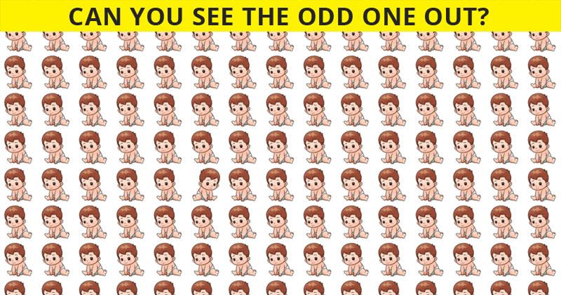 If You Can Pass This Odd Ones Out Visual Test In 30 Seconds, You Have Unique Eyesight
