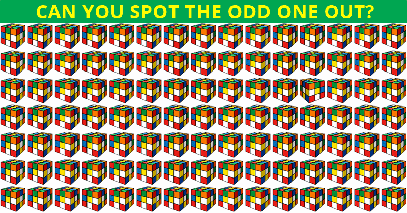 No One Can Score A Perfect Score On This Odd One Out Visual Game Without Cheating. Prove Us Wrong?