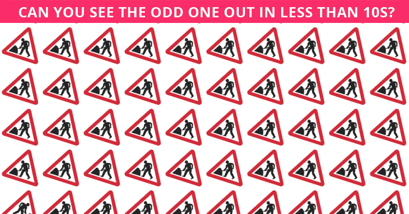 Nobody Can Solve This Crazy Tough Test. Can You Spot The Odd Ones Out On All Levels In Less Than 10 Seconds?